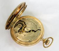Antique United States Watch Co Hunter Pocket Watch (4 of 5)