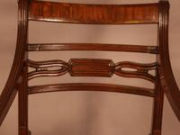 Rare Set of 10 Regency Period Mahogany Dining Chairs (9 of 17)