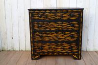 Victorian Chest of Drawers with Fish Decoupage (7 of 11)