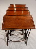 Attractive Early 20th Century Quartetto of Occasional Tables (4 of 4)