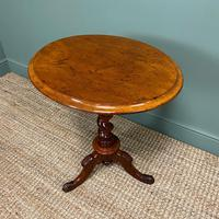Victorian Mahogany Antique Occasional Lamp Table (4 of 5)