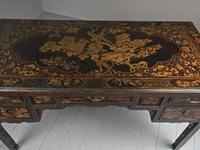 Chinese Gilded & Black Lacquered Desk (18 of 20)
