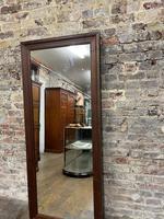 Steel Framed Mahogany Mirror (5 of 5)