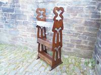Arts & Crafts Carved Oak Book Rest (9 of 13)