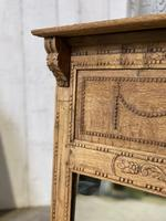 French 19th Century Overmantle Mirror (7 of 11)
