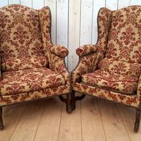 Pair of Chairs for re-upholstery (3 of 12)