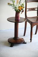 Antique Mahogany Side Table (5 of 11)