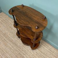 Quality Victorian Rosewood Antique Whatnot (9 of 9)