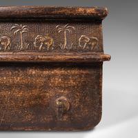 Antique Elephant Polo Crop Rack, Indian, Hallway Plaque, Colonial, Victorian (7 of 10)