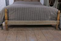 Lovely Carved Gilded Frame French King Size Bed (3 of 7)