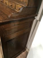 Oak open rack dresser with cupboard and draw base (8 of 14)