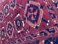 Antique Afghan Beshir Carpet (10 of 11)