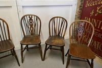 Collection of 8 Beech & Elm Country Windsor Chairs (6 of 12)