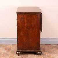 19th Century Small Mahogany Chest of Drawers with Extending Top (19 of 24)