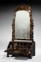 Queen Anne Period Lacquered Dressing Mirror (9 of 9)
