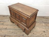 18th Century Style Welsh Oak Coffer Bach (5 of 12)