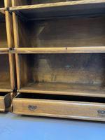 Pair of Globe Wernicke Oak Bookcases (13 of 16)