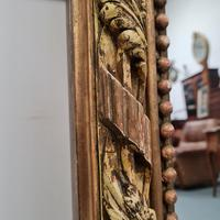Large Antique French Mirror c.1860 (3 of 9)