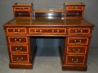 Mahogany Pedestal Desk (3 of 5)