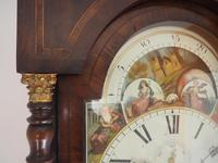 Fine English Longcase Clock John Fenton Congleton 8-day Striking Grandfather Clock Solid Mahogany Case (12 of 16)