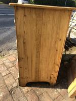 Antique Vintage Pine Small Three Drawer Chest of Drawers (4 of 8)