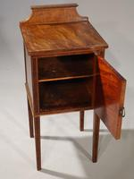 Elegant Early 20th Century Mahogany Night Cupboard (5 of 5)