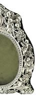"""Antique Victorian Sterling Silver 9"""" Photo Frame 1898 (9 of 11)"""