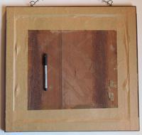 George IV English Adam & Eve Silk on Linen Needlework Sampler, 1825 in Original Frame (5 of 9)