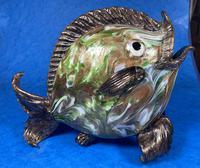 20th Century Italian Murano Glass Gold Lustre Fish (3 of 12)