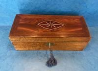 Victorian Burr Maple, Mahogany & Walnut Box (3 of 11)
