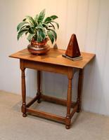 Light Oak Side Table (7 of 8)