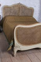 Lovely French King Size Caned Bed (5 of 9)