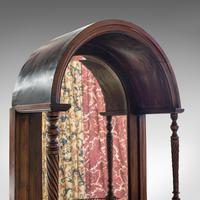 Antique Butler's Mirror, English, Rosewood, Dome Top, Wall, Victorian c.1880 (11 of 11)