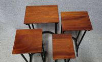 Quarteto Mahogany Nest of Tables (6 of 8)