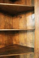 Antique Country Oak panelled Corner Cupboard. Circa 1800 (6 of 12)