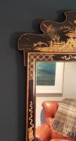 Antique Chinioserie Gilt Lacquered Wall Mirror (2 of 4)