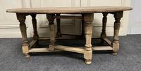 Large Bleached Oak Coffee Table (3 of 11)