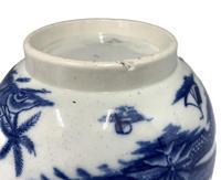Antique Blue & White Transfer Print Pottery Bowl c.1800 (5 of 8)