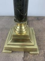 French Brass And Marble Small Table Lamp, Rewired (8 of 9)