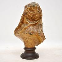 Antique Bronzed Spelter Bust of a Moorish Man (4 of 10)