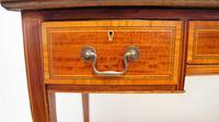 Victorian Jas Shoolbred Inlaid Mahogany Writing Table (15 of 24)