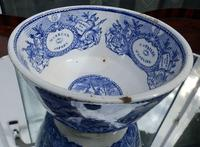 An Extremely Rare Pottery Napoleon Propaganda B&w Commemorative Bowl C.19thc (10 of 12)