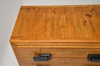Art Deco Solid Oak Chest of Drawers (11 of 12)