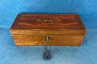Victorian Burr Maple, Mahogany & Walnut Box (6 of 11)