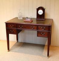 Large Mahogany Writing Desk (3 of 11)