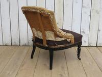 Antique French Button Back Tub Chair (3 of 8)