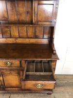 Large 20th Century Georgian Style Oak Dresser (17 of 23)