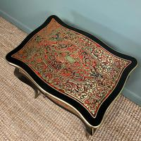Small 19th Century Antique Boulle Work Table (9 of 9)