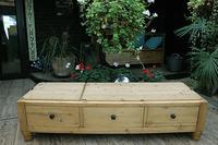 Huge! Old Pine Triple 'Knock Down' Combination Wardrobe - We Deliver! (13 of 21)