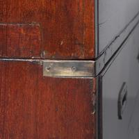 Victorian Teak Two Part Military Chest (7 of 13)